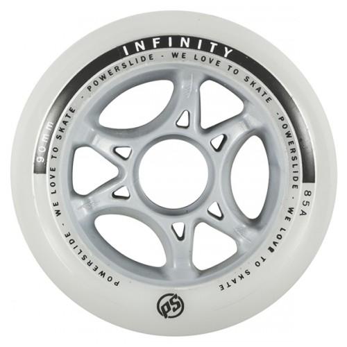 Inlineshjul Powerslide Infinity 84 mm diam. 4-pack -85a