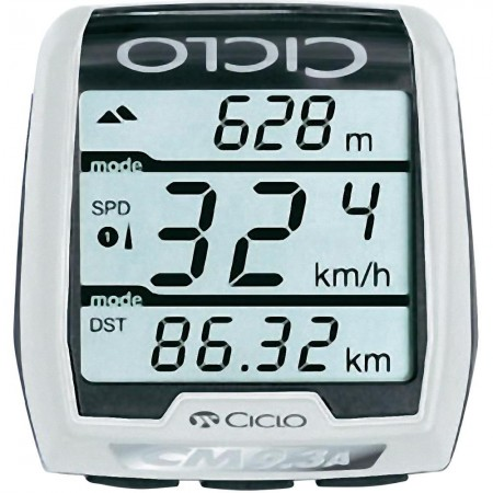 Trådlös cykeldator med höjdmätare och wattmätare CicloSport CM 9.3A