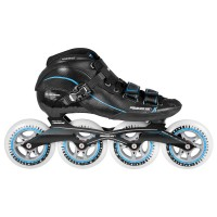 Speedskate Inlines Powerslide X Skate Men - Black / Blue 4x100mm