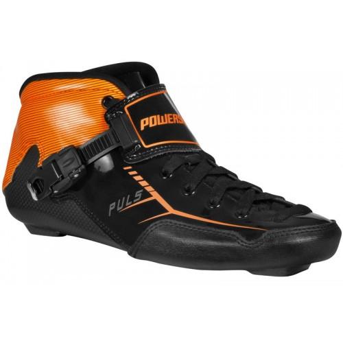 Speedskates Skor Powerslide Puls - black / orange - Pain free