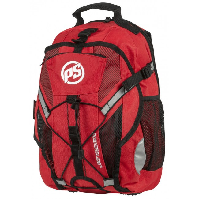 Inlinesryggsäck Powerslide Fitness Backpack - Red