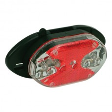 OXC Cykelbelysning 5 LED Bak, för pakethållare