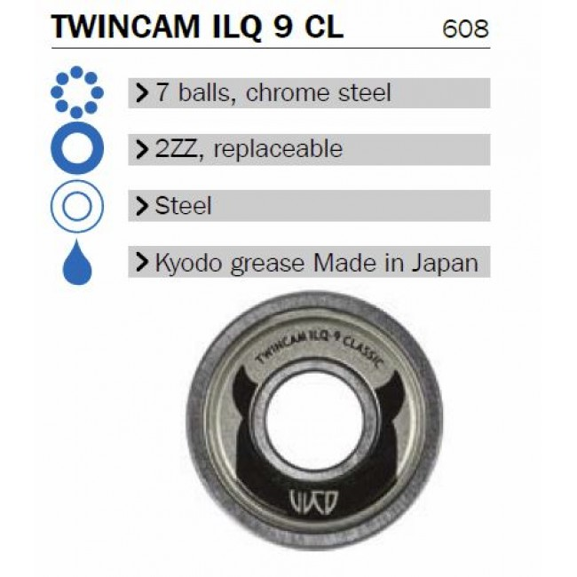 Inlineslager Powerslide WCD ILQ 9 - 16-pack