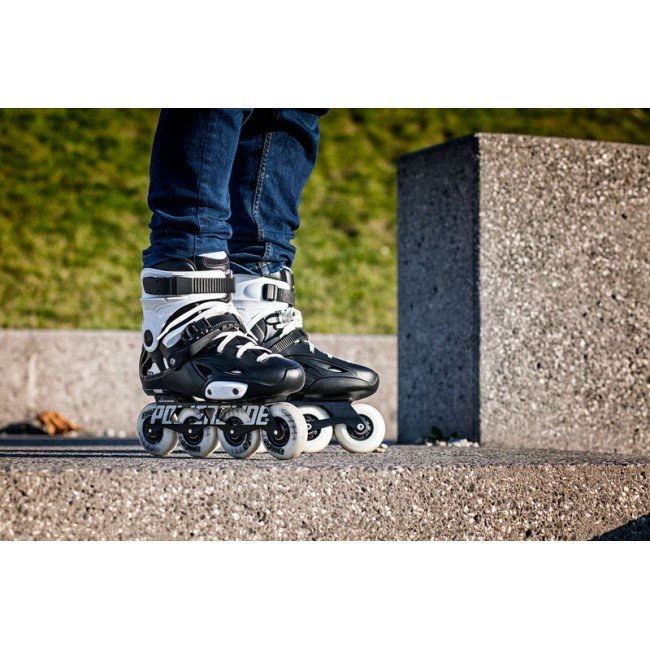Inlines Freeskate Powerslide Imperial One 80 - black / white