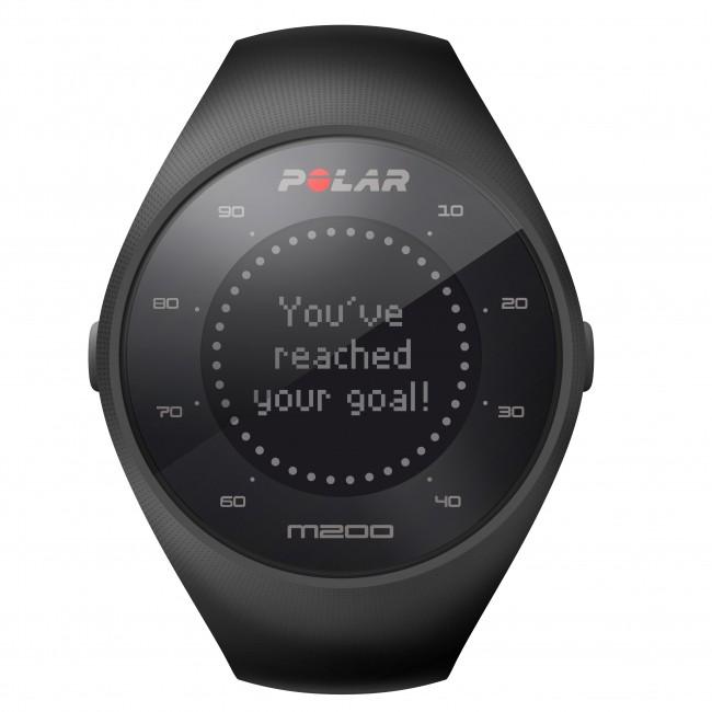 GPS Pulsklocka Polar M200 Svart
