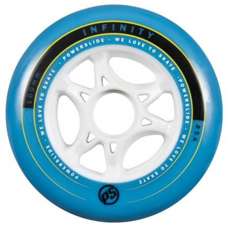 Inlineshjul Powerslide Infinity - 100mm - 4-pack Blå -85a