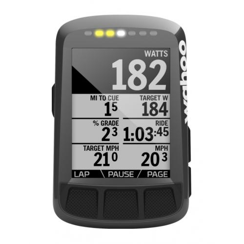 Wahoo ELEMNT Bolt Stealth Edition - Cycling Computer - GPS Cykeldator