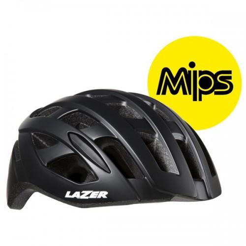 Cykelhjälm Racer Lazer Tonic MIPS matt svart