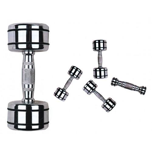 Kromhantelpaket 1-10 kg Master Fitness