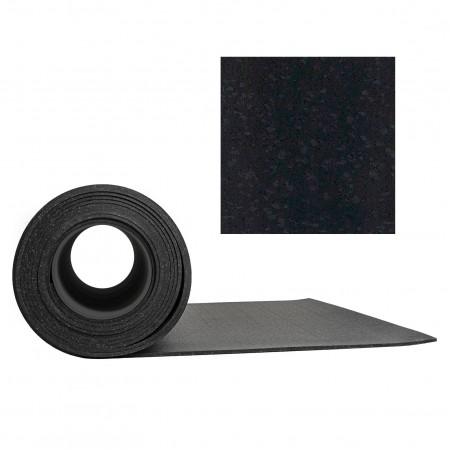 Gymgolv Everroll 8 mm 1,25mx10m - Svart