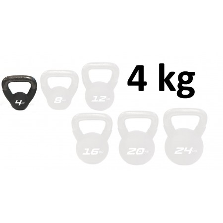 Kettlebell Neopren Master Fitness 4 kg