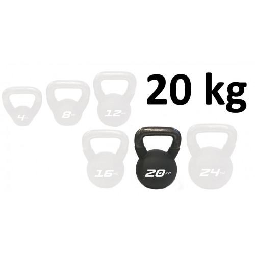Kettlebell Neopren Master Fitness 20 kg