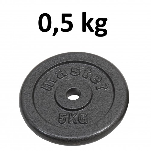 the best attitude 15477 804b4 Skolvikt för 25 mm stång Master Fitness 0,5kg