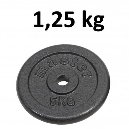 Skolvikt för 25 mm stång Master Fitness 1,25kg