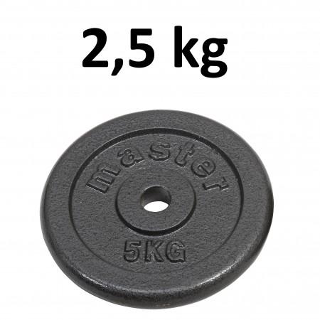 Skolvikt för 25 mm stång Master Fitness 2,5kg