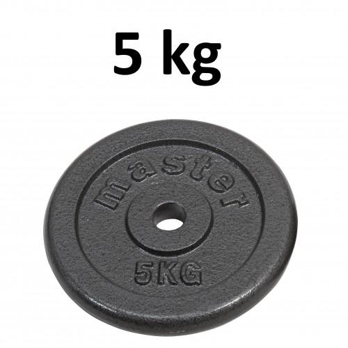 Skolvikt för 25 mm stång Master Fitness 5kg