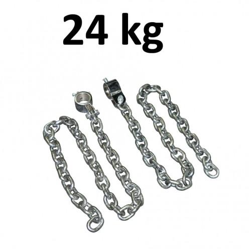 Lyftkedjor med 50mm hållare Master Fitness 24kg
