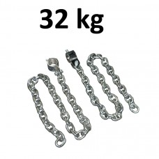 Lyftkedjor med 50mm hållare Master Fitness 32kg