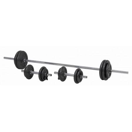 Skivstångsset 50 kg Master Fitness - Skivstänger och vikter ... 1100797d164cc