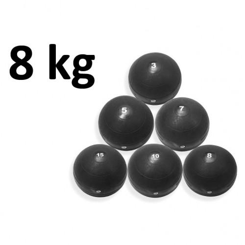Slamball Svart 8 kg - Master Fitness