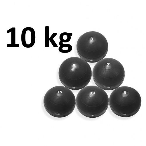 Slamball Svart 10 kg - Master Fitness