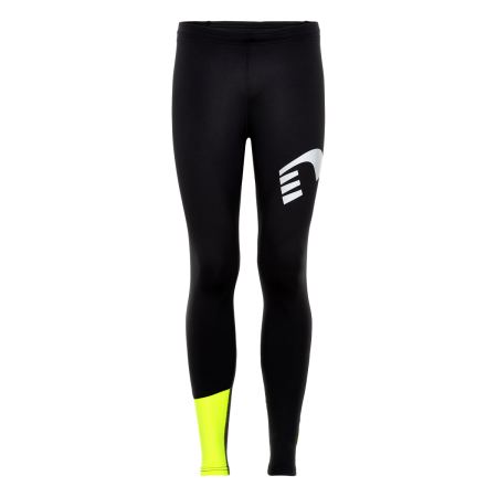 Newline Visio Winter Tights - Black-Yellow