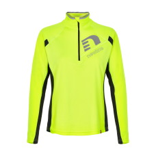 Newline Visio Warm Shirt - Neon Yellow - Dam