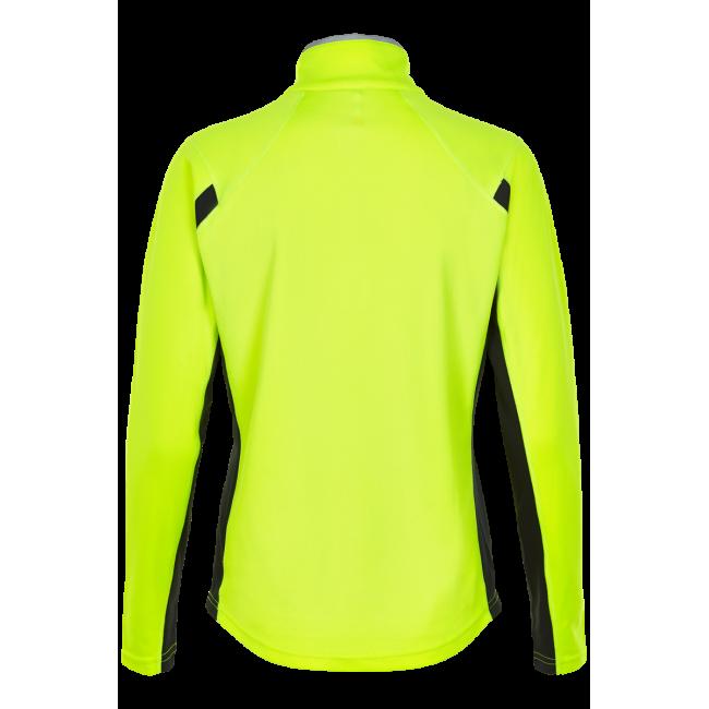 Newline Visio Warm Shirt - Neon Yellow - Dam