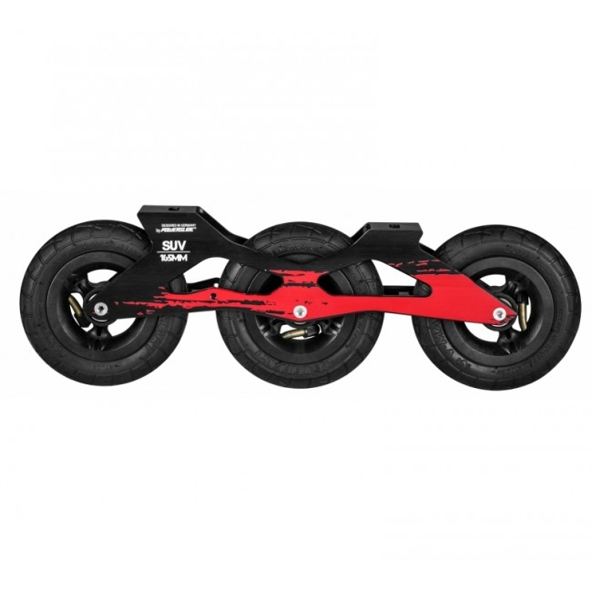 Powerslide SUV Ram inkl. luftpumpade hjul 3x125mm