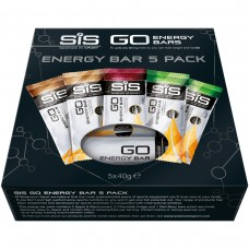 SIS GO Energy Bar 5-P Various 5x40g
