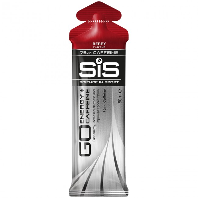 Energigel SIS GO Energy + Caffeine Gel Berry 30x60ml