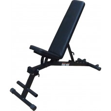 Träningsbänk Master Fitness Black II Fold