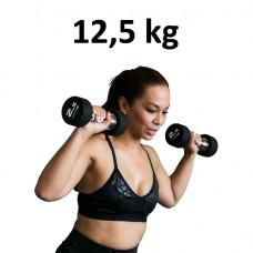 Premium Gummihantel Master Fitness 12,5kg
