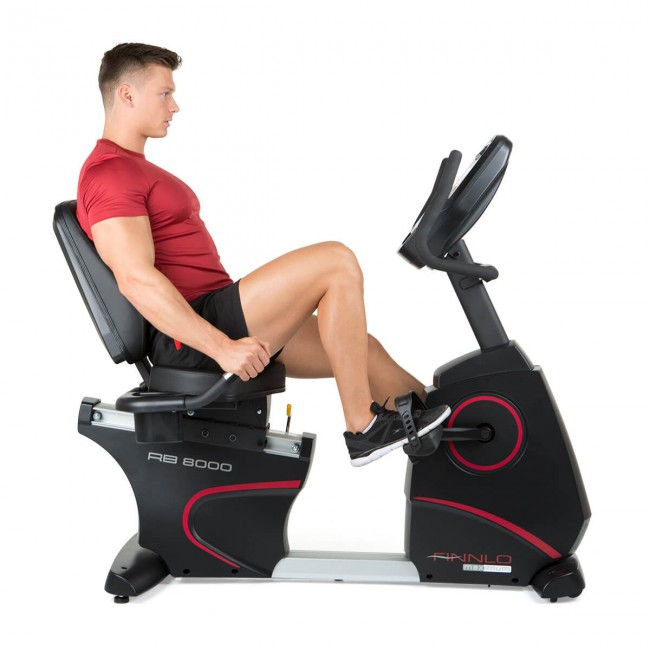 Motionscykel Finnlo Maximum Recumbent Bike RB 8000