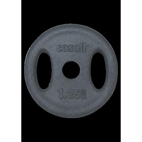 Viktskiva Casall Weight plate grip 1x1.25kg - Black