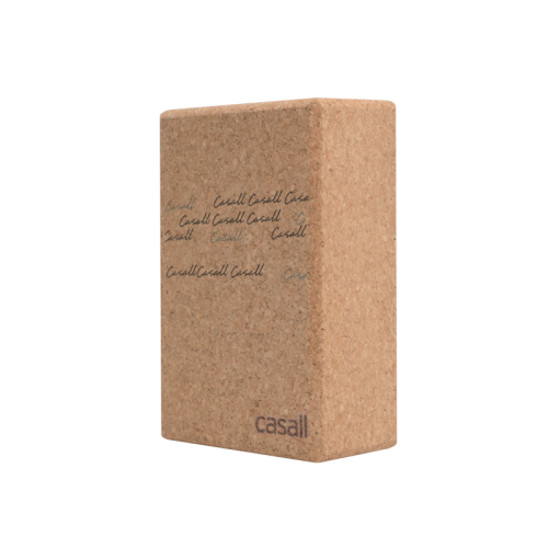 Casall Yoga block natural cork - Natural cork