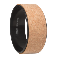 Casall Yoga wheel cork - Natural cork/black