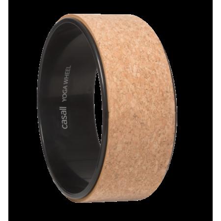 Casall Yoga wheel cork - Natural cork/black
