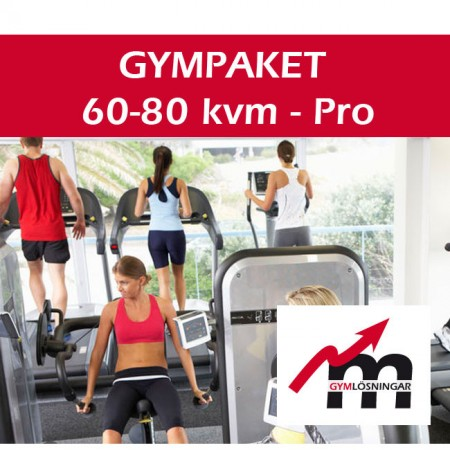 Gympaket Pro 60-80 kvm