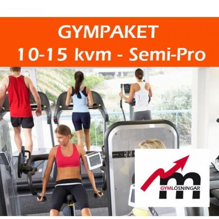 Gympaket Semi-Pro 10-15 kvm