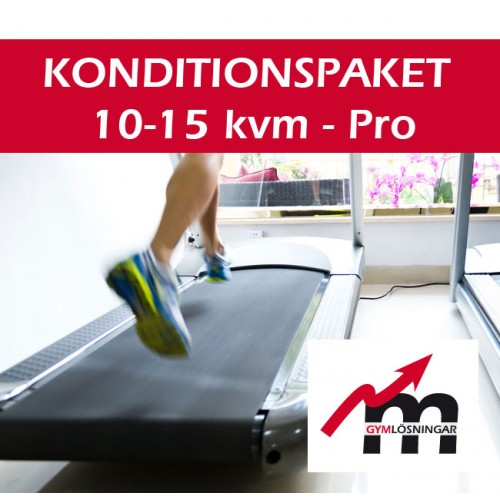 Konditionspaket Pro 10-15 kvm