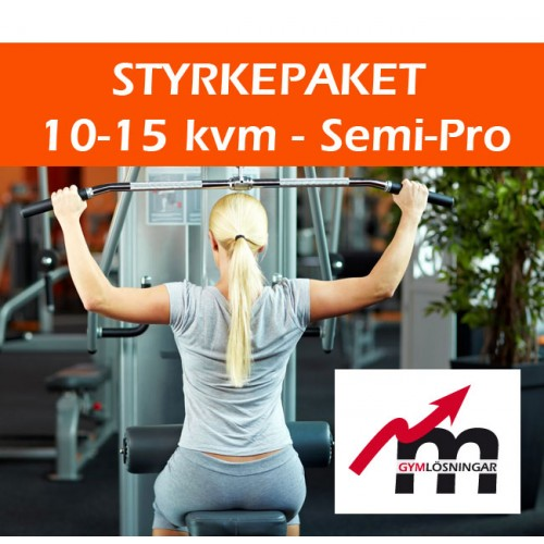 Styrkepaket Semi-Pro 10-15 kvm