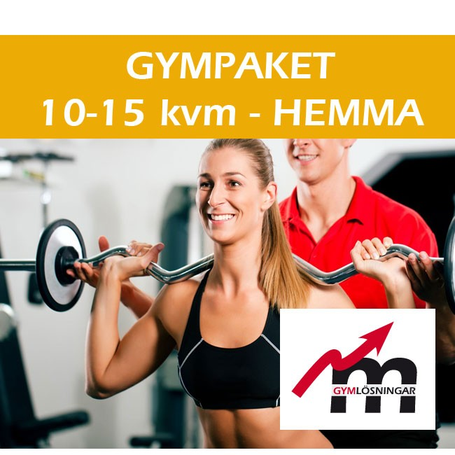 Gympaket Hemmagym 10-15 kvm - Casall