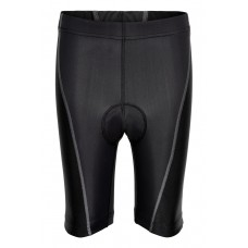 Newline Bike 8 Panel Shorts Kids Junior 8-14 år - Black