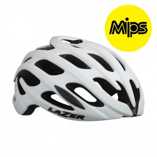 Cykelhjälm Racer Lazer Blade+ Vit MIPS