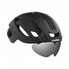 Cykelhjälm Racer Lazer Bullet 2.0 Matt Svart Lins+LED