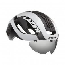 Cykelhjälm Racer Lazer Bullet 2.0 Lins+Vit LED