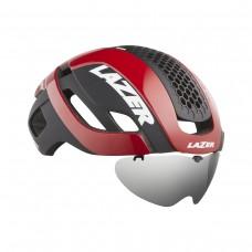 Cykelhjälm Racer Lazer Bullet 2.0 Röd Lins+LED