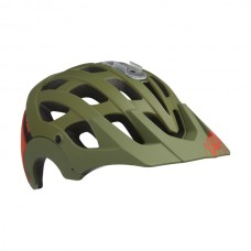 Cykelhjälm MTB Lazer Revolution Matt Khaki Orange