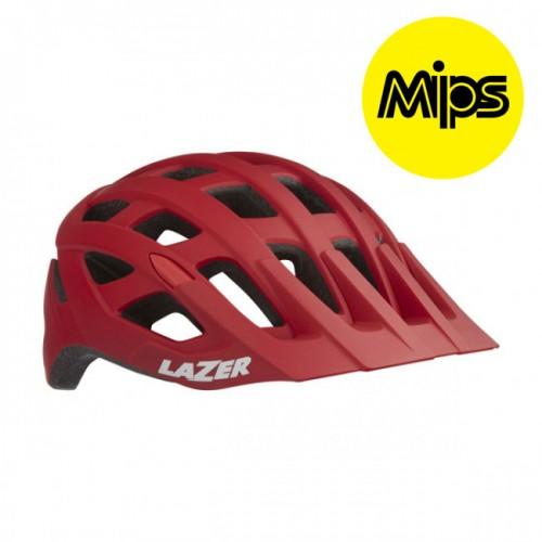Cykelhjälm MTB Lazer Roller Matt Röd MIPS